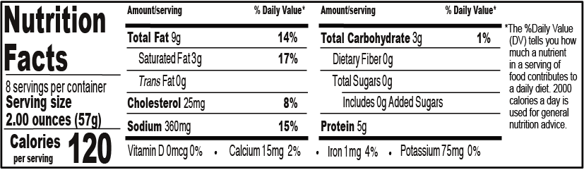 johnson chili Nutrition facts